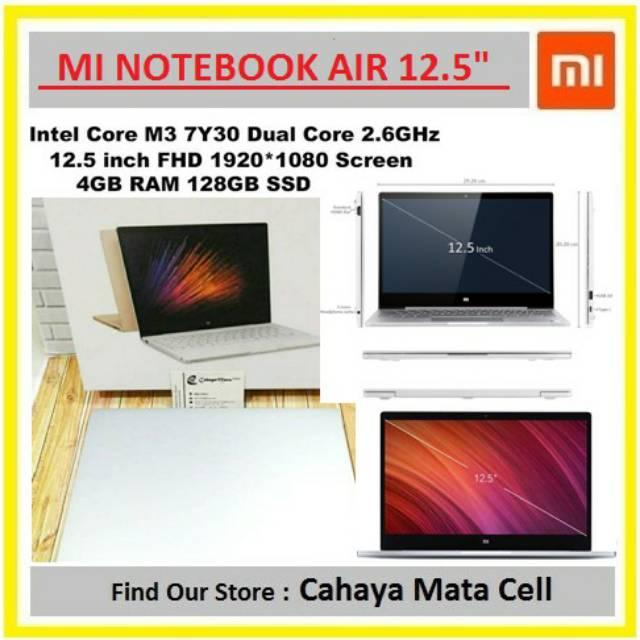Xiaomi Mi Notebook Air 12.5 inch 4GB / 128GB M3-7Y30 Win10