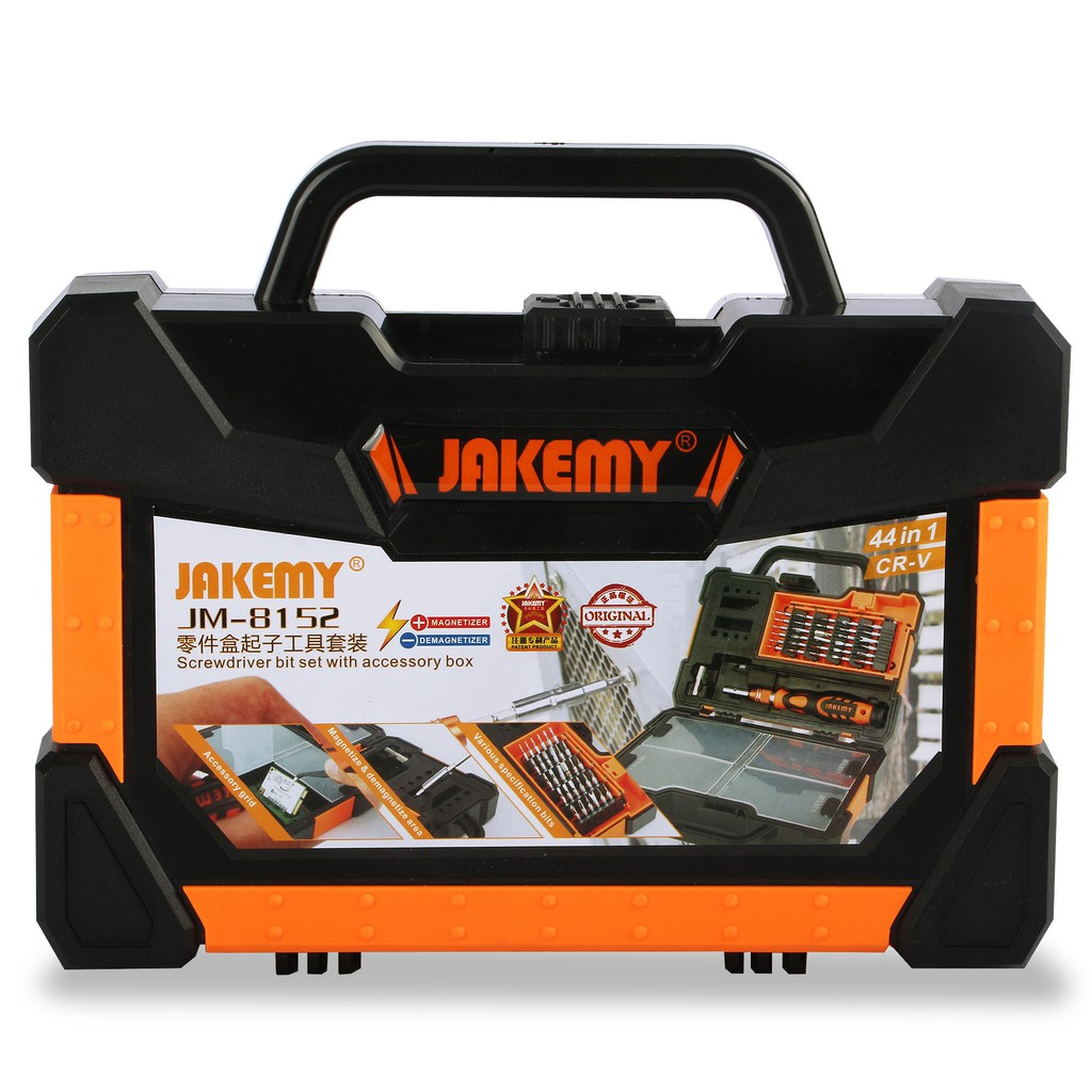 Obeng Tool Set Merek Jakemy Jm I84 Original Shopee Indonesia 8101 33 In 1 Precision Screwdriver Repair Kit