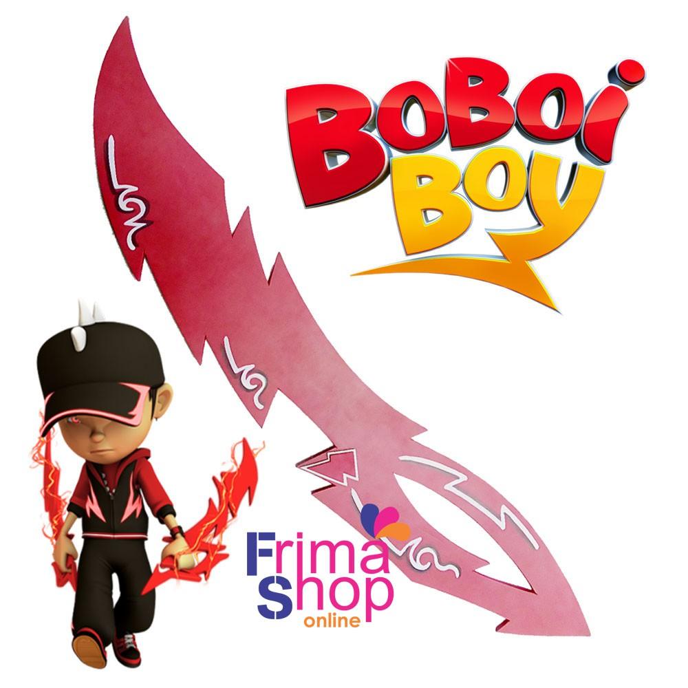 Topi Pedang Jam Tangan Boboiboy Halilintar Shopee Indonesia