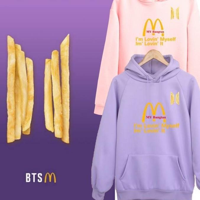 [BANGTAN BOX] Mcd x BTS Hoodie Merch