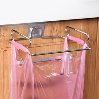 Gantungan Sampah Plastik Dapur Stainless Tempat Lap Tanpa Paku