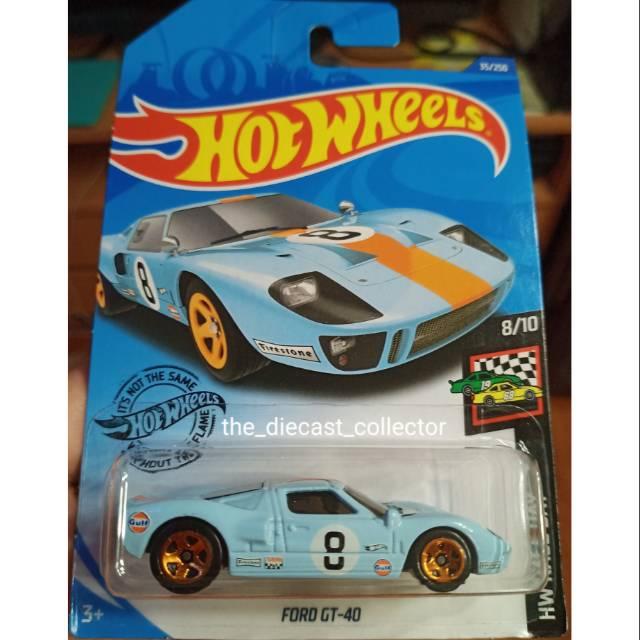 Hotwheels Koleksi Termurah Ford Gt 40 Film Ford Vs Ferrari Shopee Indonesia