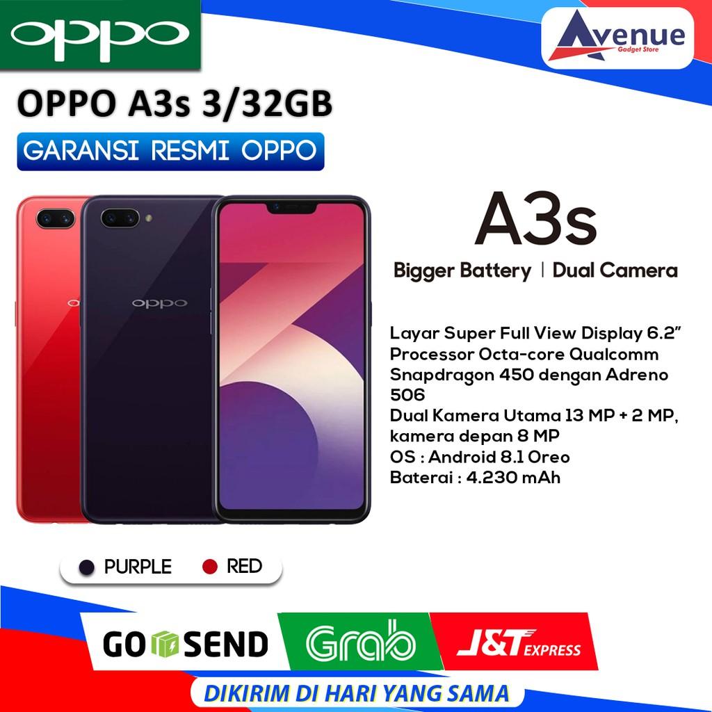 Hp Oppo A3s 3 32gb Garansi Resmi Promo Murah Shopee Indonesia