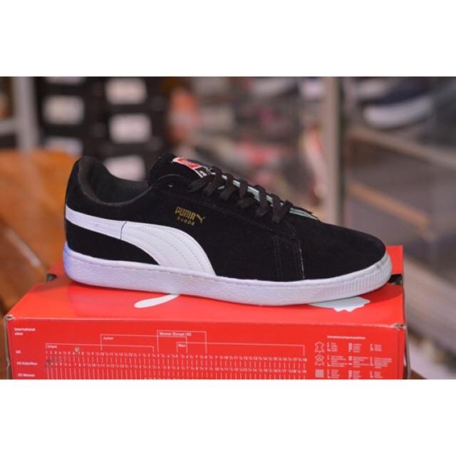 Sepatu Puma Suede Sepatu Sneakers Pria Shopee Indonesia