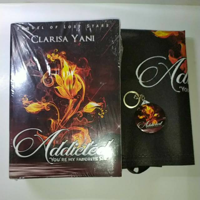 Addicted novel by Clarisa Yani