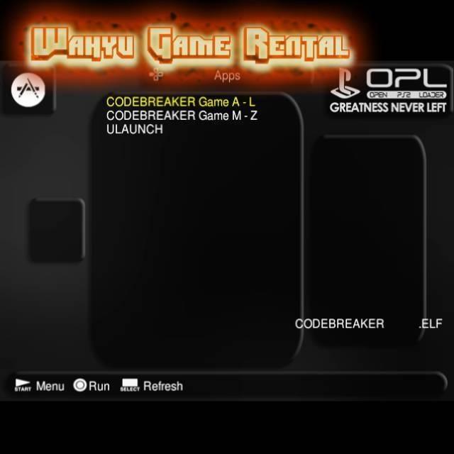 MCBOOT + Codebreaker + Ulaunch (Memory Card / MC BOOT OPL Multi Cheat MMC  PS2)