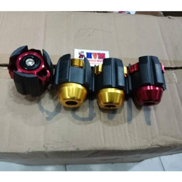 Jalu as roda full cnc nmax aerox pcx ninja vixion universal ready harga grosir | Shopee Indonesia