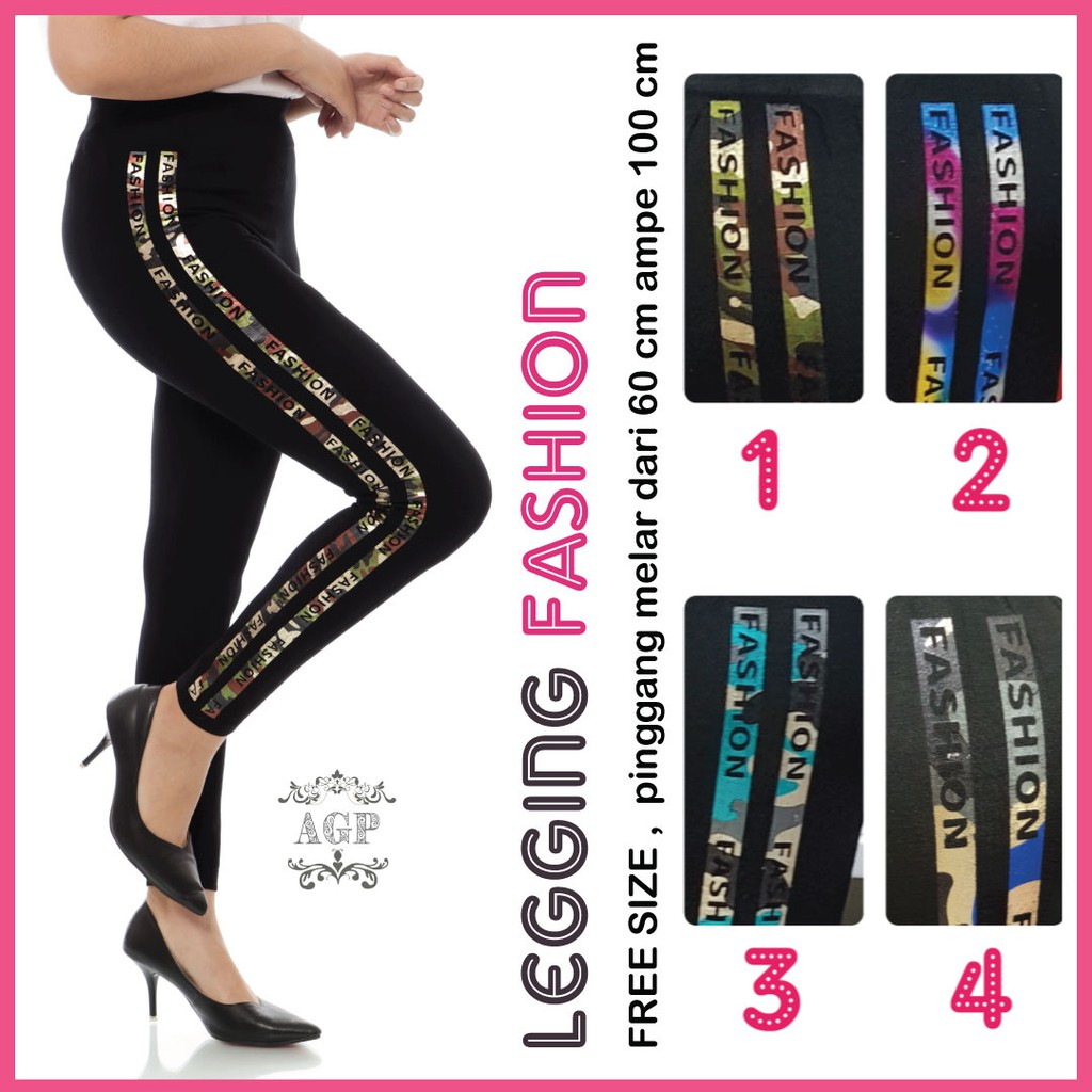 Legging Fashion Jumbo Legging Wanita Legging Import Fashion Shopee Indonesia