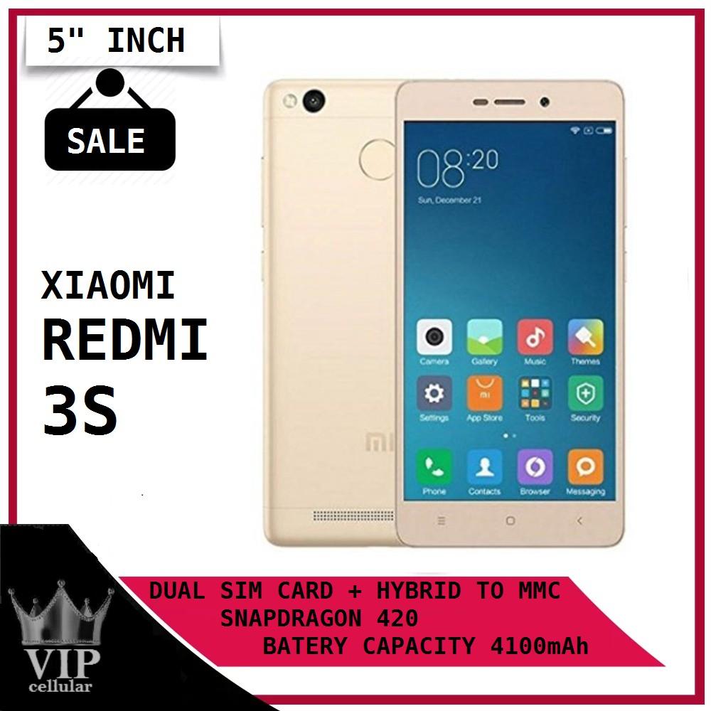 Xiaomi Redmi 3s 16gb Ram 2gb Gold Shopee Indonesia
