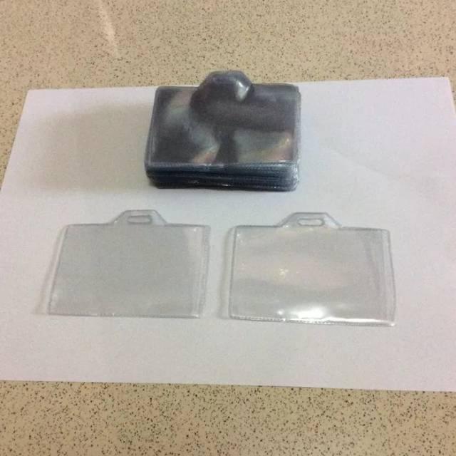 Plastik ID Card 6x9Cm Tebal (Landscape) / Plastik ID Card Panitia