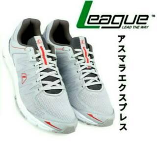 League Original New Volkov M LA Sepatu Lari - Nine Iron Cloudburst Grey  White  94e65350f0