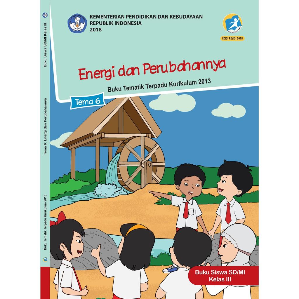Buku Paket Tematik Kls 3 Sd Tema 1 2 3 4 5 6 7 8 Agama Islam Shopee Indonesia