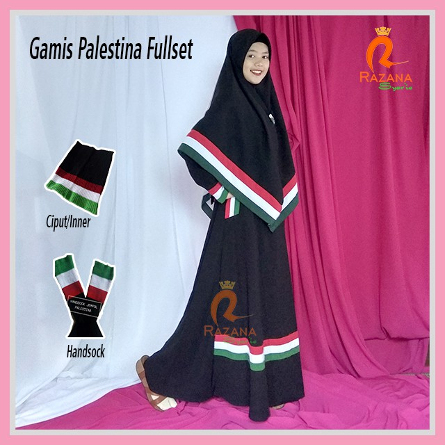 Gamis Palestina Jilbab Gucci