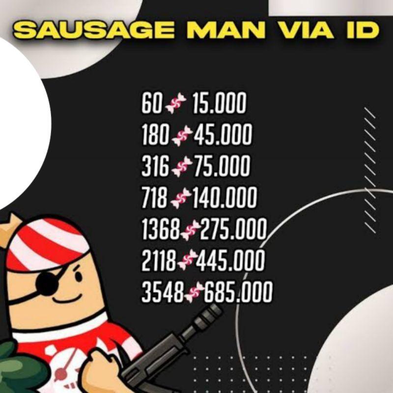 Candy Sausage Man Termurah