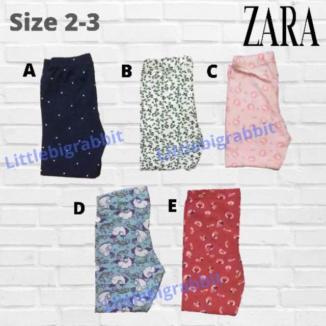 Celana Legging Anak Perempuan Legging Zara Anak Zara Anak Perempuan Leging Anak Murah 2 3y Shopee Indonesia