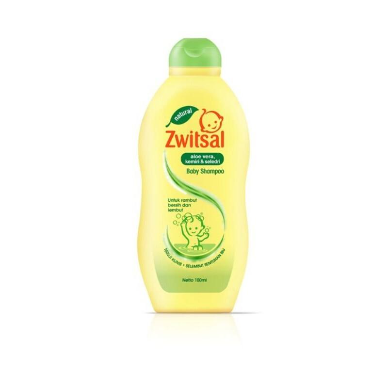 Zwitsal Baby Shampoo Natural Aloe Vera Kemiri Seledri 100ml