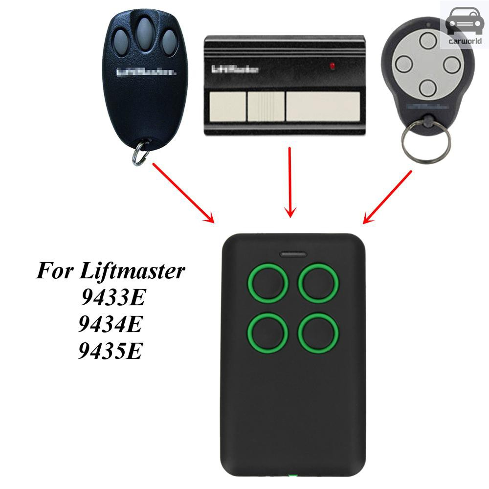 4-Button 286-868MHz Fits Fixed Rolling Code Garage Door Multi Remote Trendy