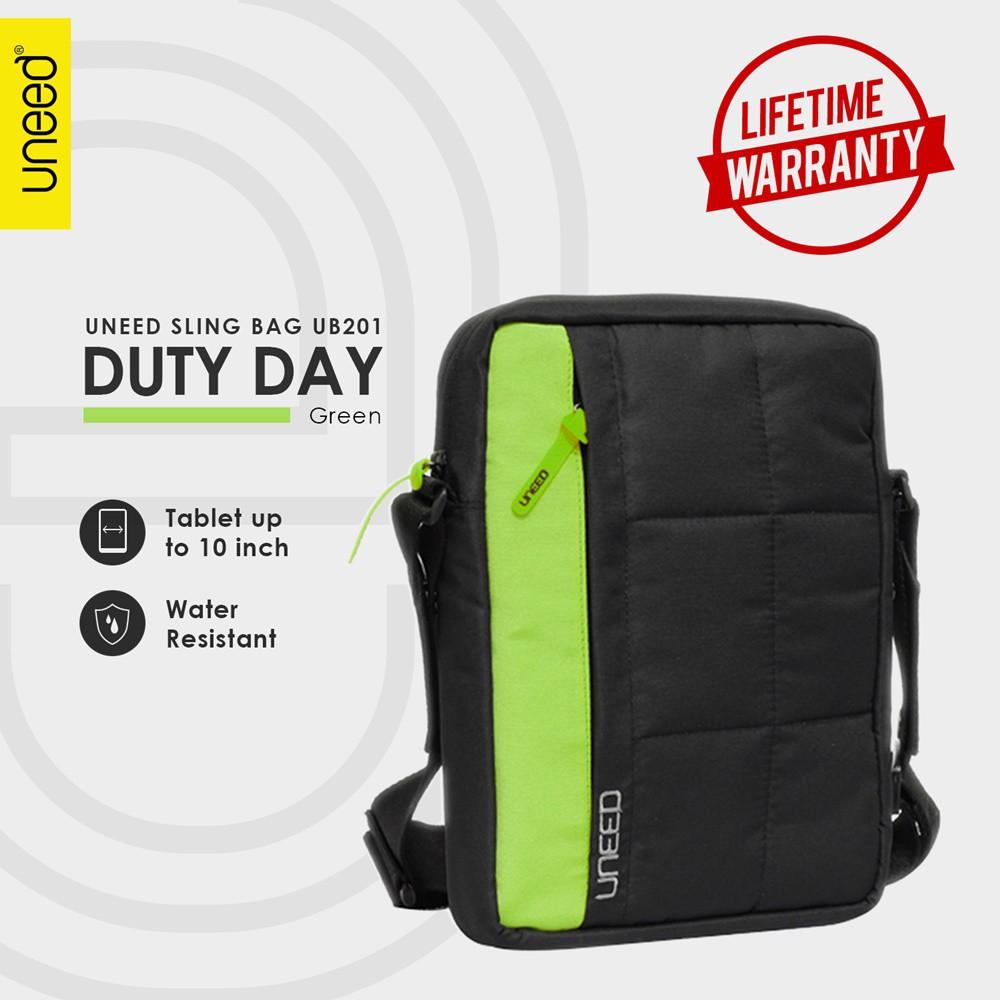 Uneed GO Tas Selempang Pria / Tas Sling Bag Pria Water Resistant - UB208   Shopee Indonesia