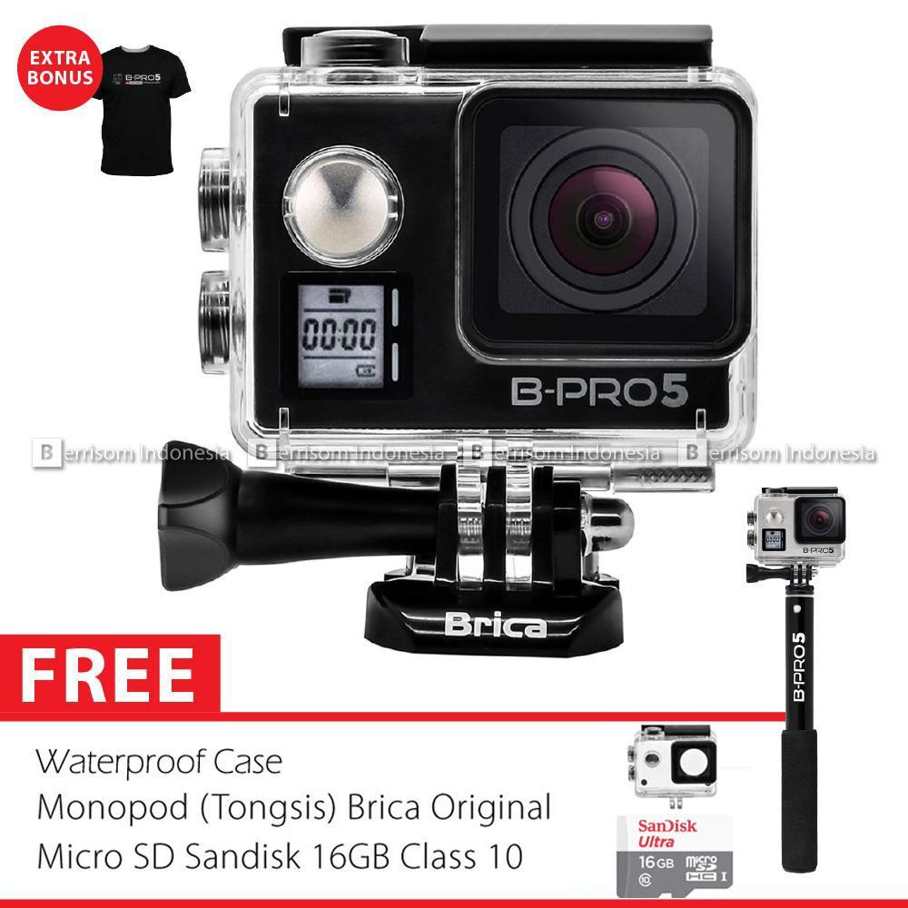 Paket Komplit Xiaomi Yi Camera Black International Version Shopee Extra Battery Free Kotak Baterai Hitam Indonesia