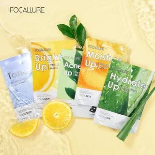 Focallure 1pc Masker Essence Alami Untuk Melembabkan thumbnail