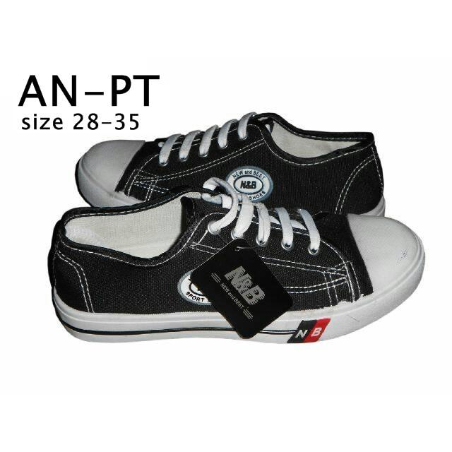 An Pt Sepatu Sekolah Anak Tk Sd Smp Murah Model Warior Pendek Tali