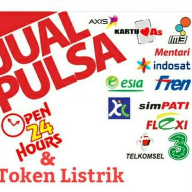 Murah Meriah Jual Pulsa Hp Dan Token Listrik Shopee Indonesia