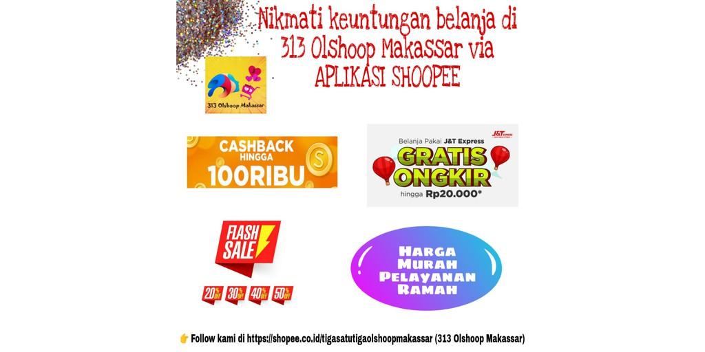 Toko Online 313 Olshoop Makassar Shopee Indonesia