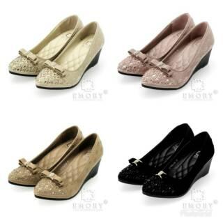 13 11 RESTOCK! Sepatu EMORY Marla 17EMO749 (VNEVMB)   wedges wanita ... e313f06795