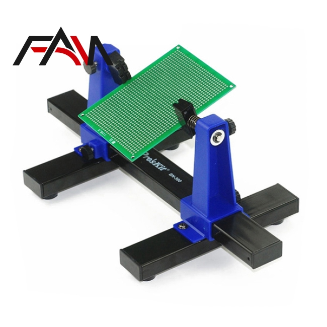 Adjustable PCB Holder Printed Circuit Board Soldering Assembly Holder Clamp NEW