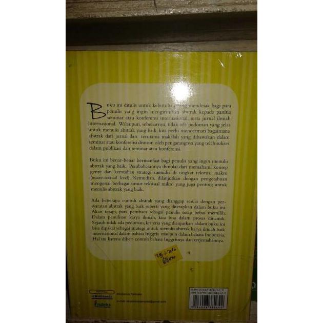Buku Cara Menulis Abstrak Djuwari Kademia Shopee Indonesia