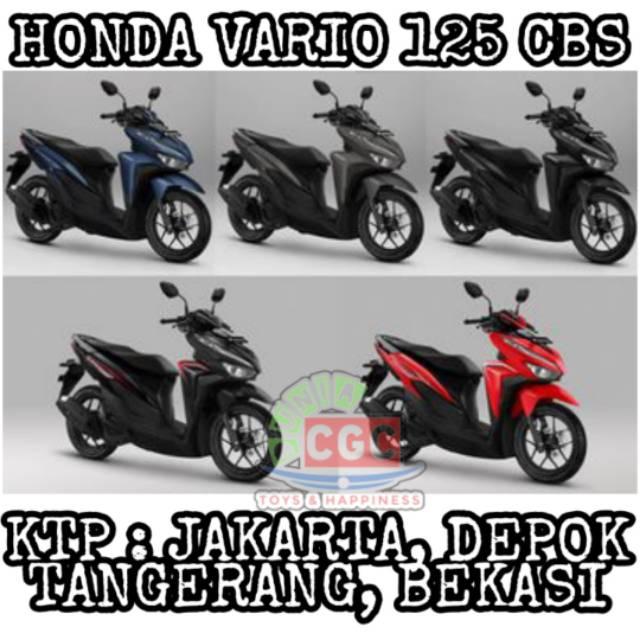 Motor Honda Vario 125 Cbs Stnk Jakarta Depok Tangerang Bekasi Shopee Indonesia