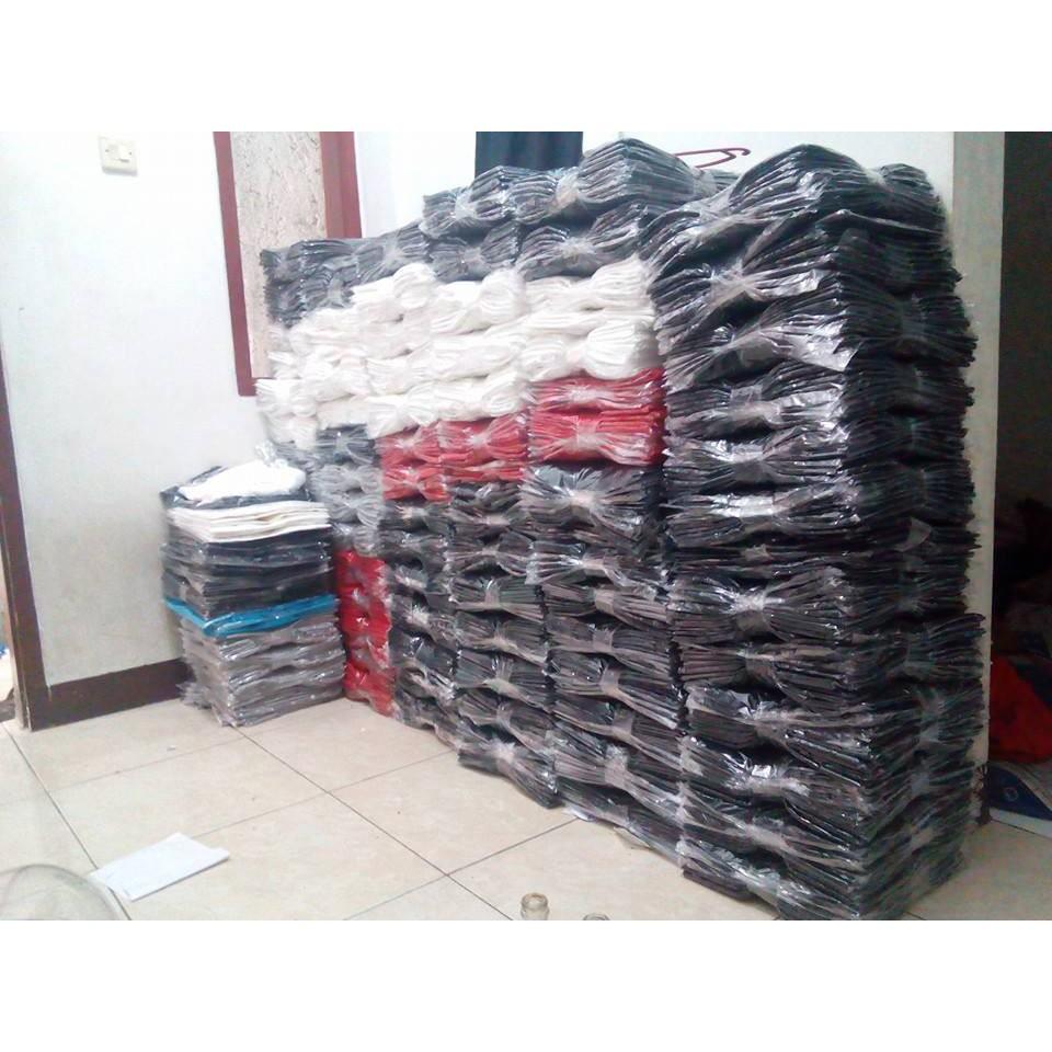 Kaos Polos Maroon Triton Distro Unisex 100 Cotton Combed 30s Reaktiv Soft