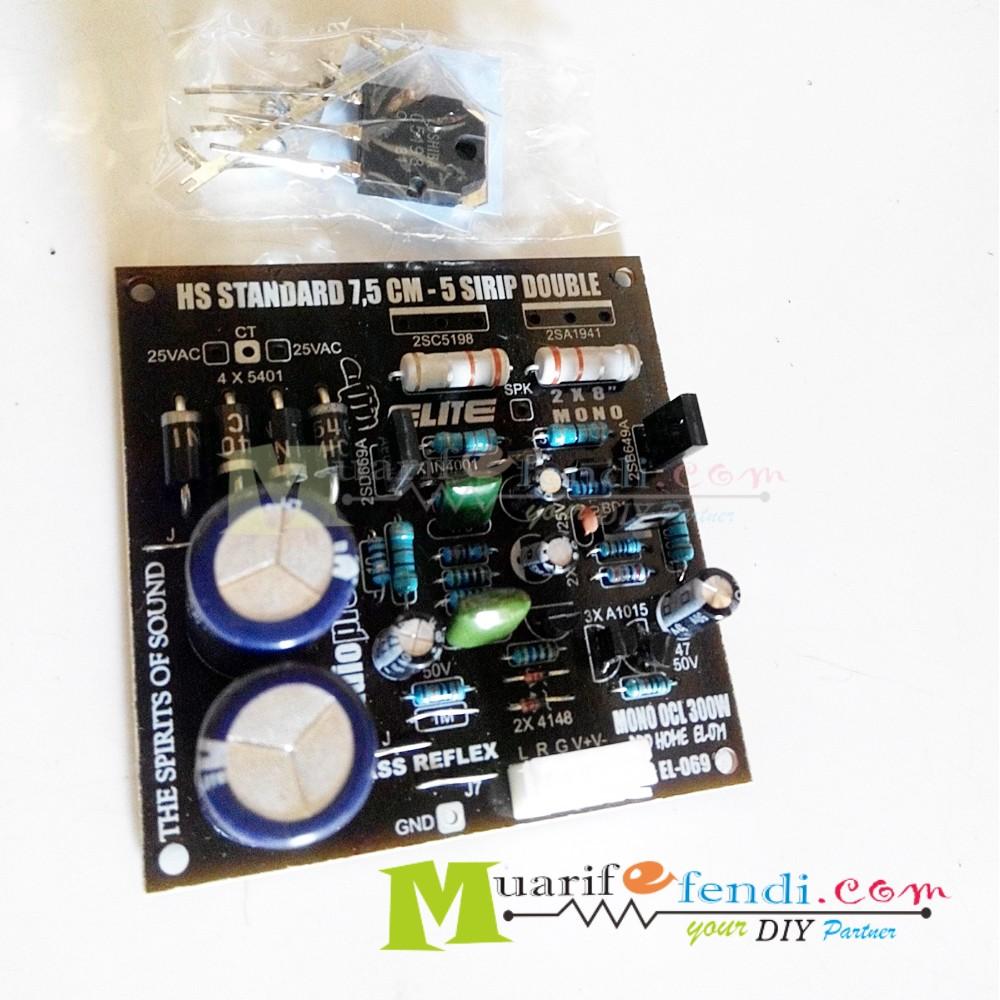 Kit Power Amplifier Stereo 400 Watt Shopee Indonesia Low Cost 221520 By Tda2005