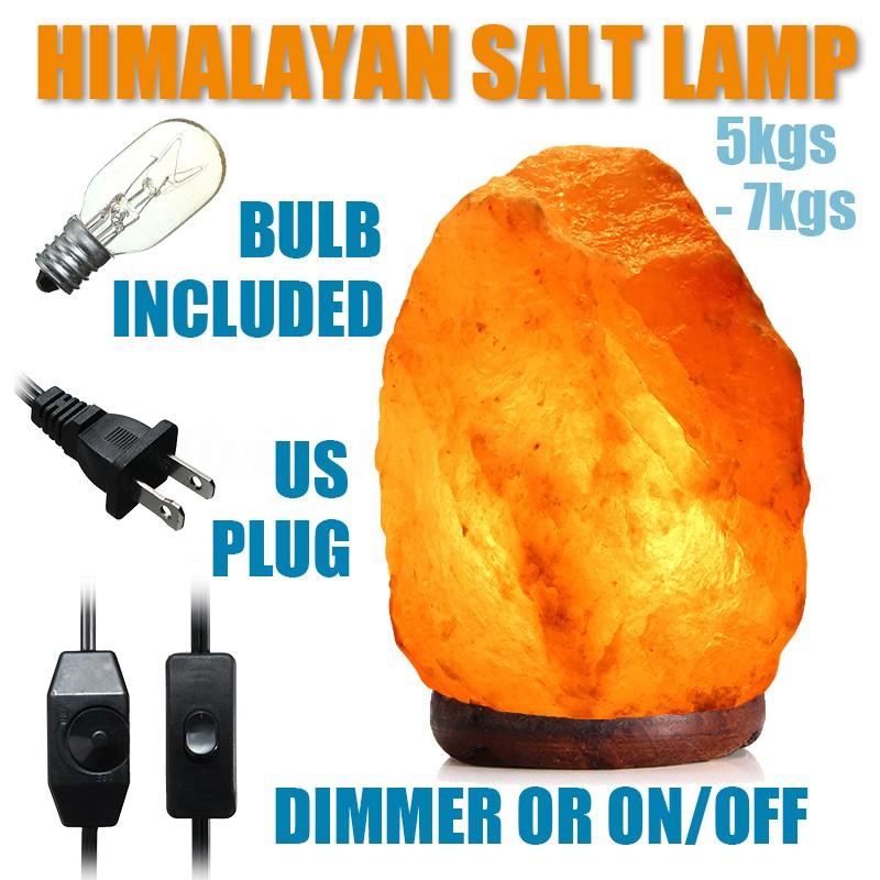 HIMALAYAN SALT LAMP REPLACEMENT LIGHT BULB 15W Rock Crystal Pink Orange Lamp