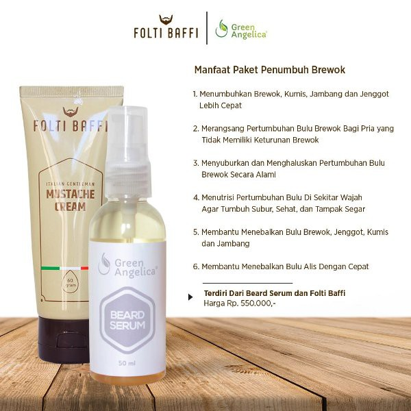 PENUMBUH BREWOK KUMIS YANG SANGAT AMPUH TANPA IRITASI & EFEK SAMPING BER BPOM | Shopee Indonesia
