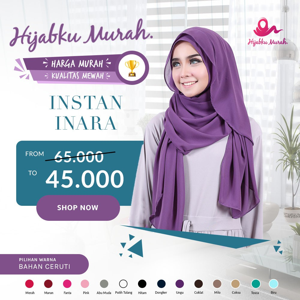 Hijab Instan Belle/Kerudung Praktis/Jilbab Modis/pasmina instan/pastan | Shopee Indonesia