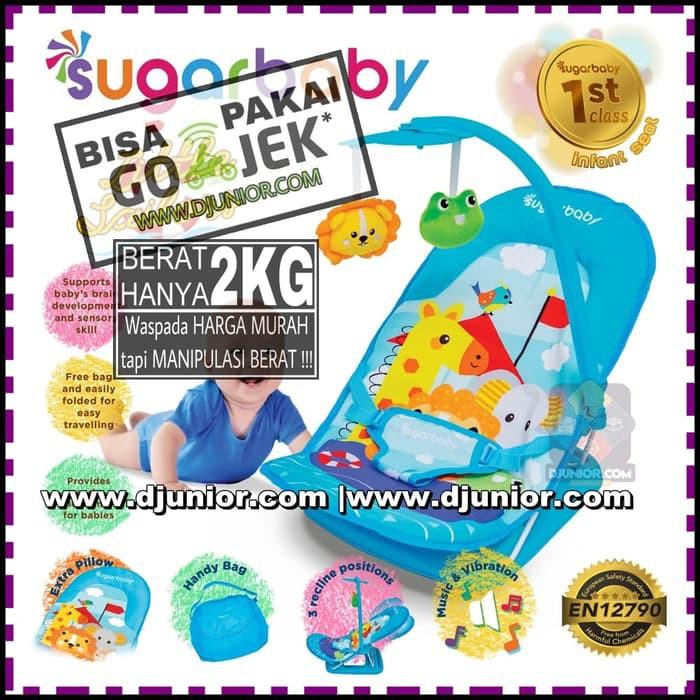 SUGAR BABY - INFANT SEAT I LOVE BEAR MUSIK + GETAR / BOUNCER MINI