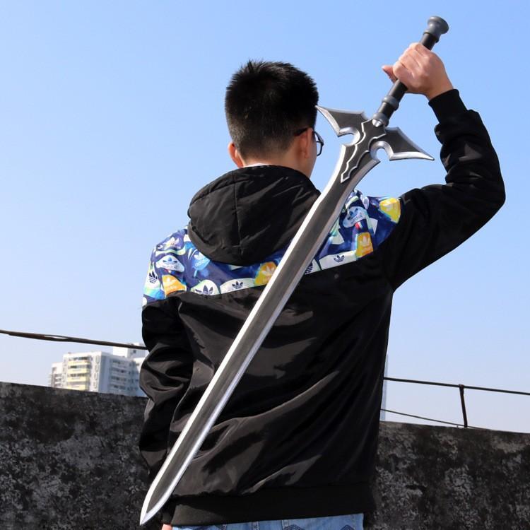 PEDANG ANIME KIRITO BLACK SWORD
