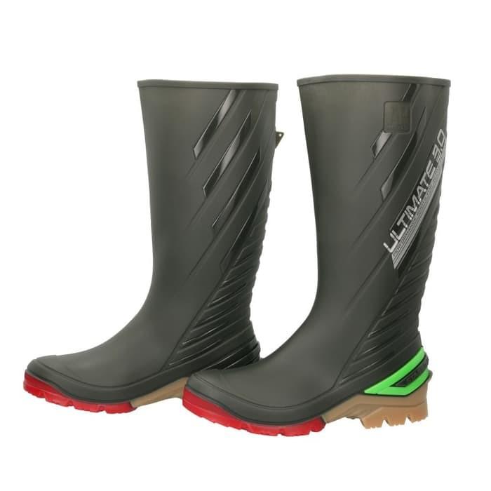 Kekinian Sepatu Boot AP Terra Eco 3 Eco3 Hijau Karet Tinggi Panjang ORIGINAL  Terkece  1cd26fd6e3