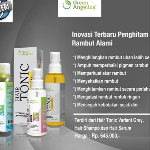 FREE 1 botol SAMPO PENUMBUH RAMBUT RONTOK BOTAK GreenAngelica PAKET LENGKAP  100% ORI alami  b008d5190b