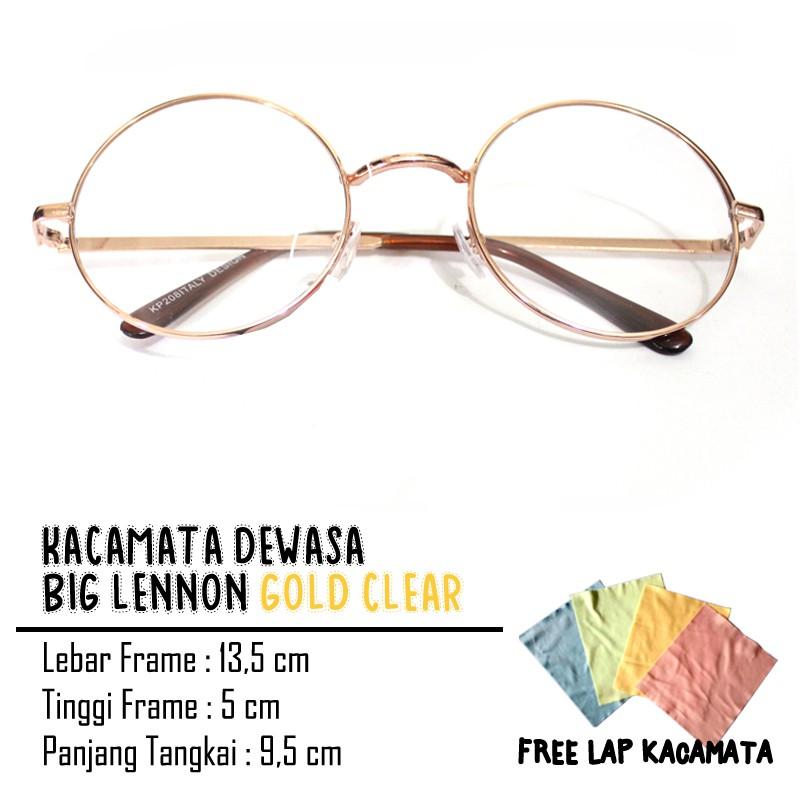 Kacamata bulat besi tengah  40ac62f9bf