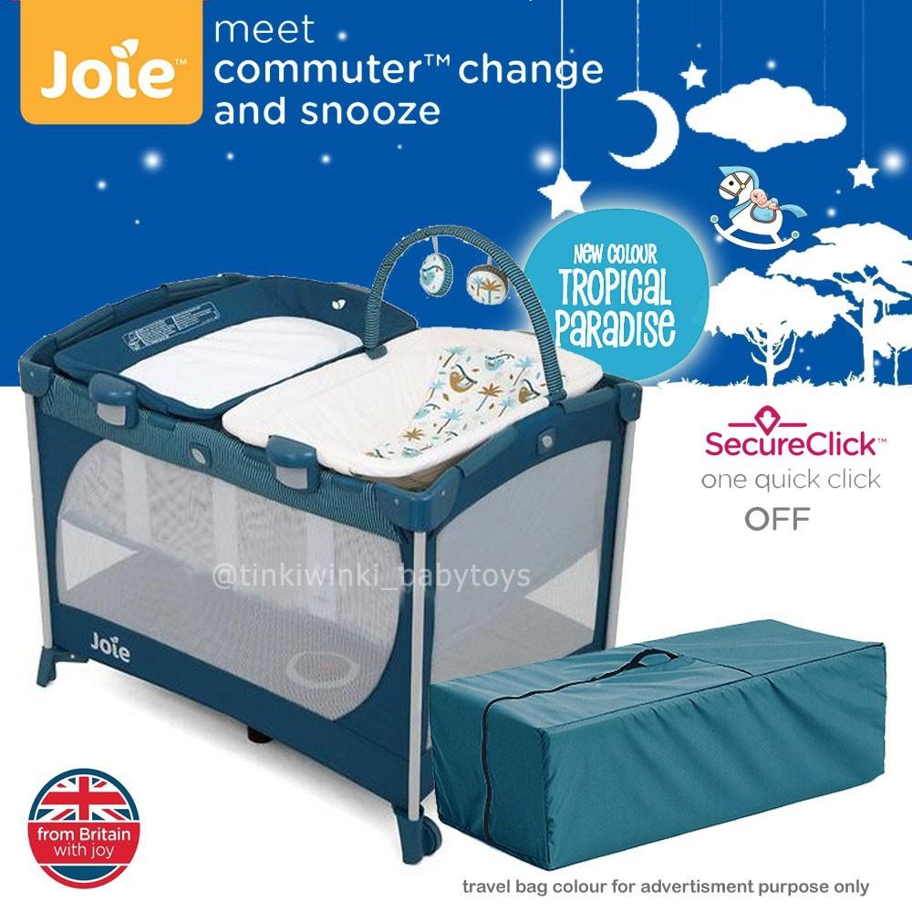 Joie Meet Commuter Change & Snooze