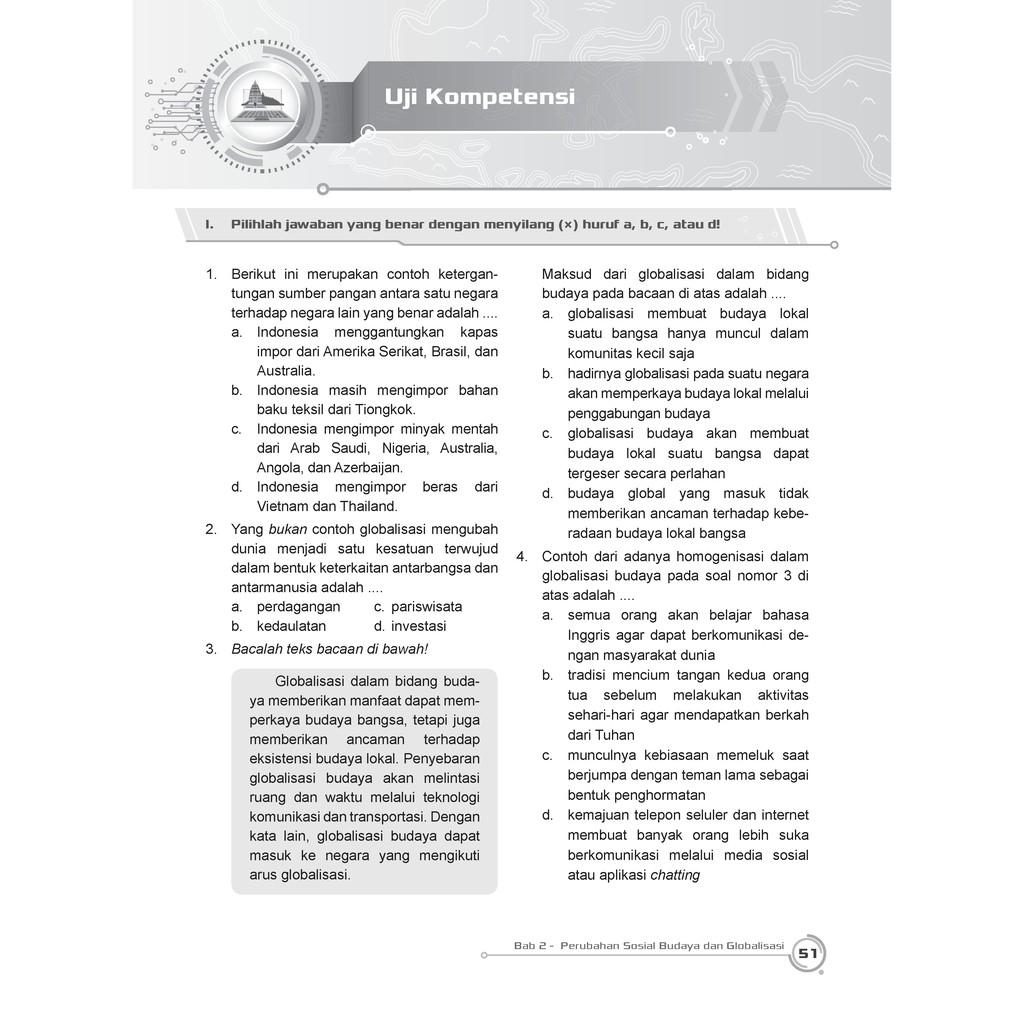 Buku Pendamping Ips Smp Mts Kelas 9 Kunci Jawaban Incer Shopee Indonesia