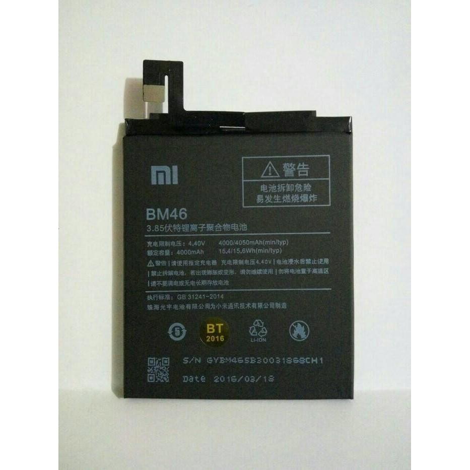 Baterai BM46 BM-46 XIAOMI REDMI NOTE 3/REDMI NOTE 3