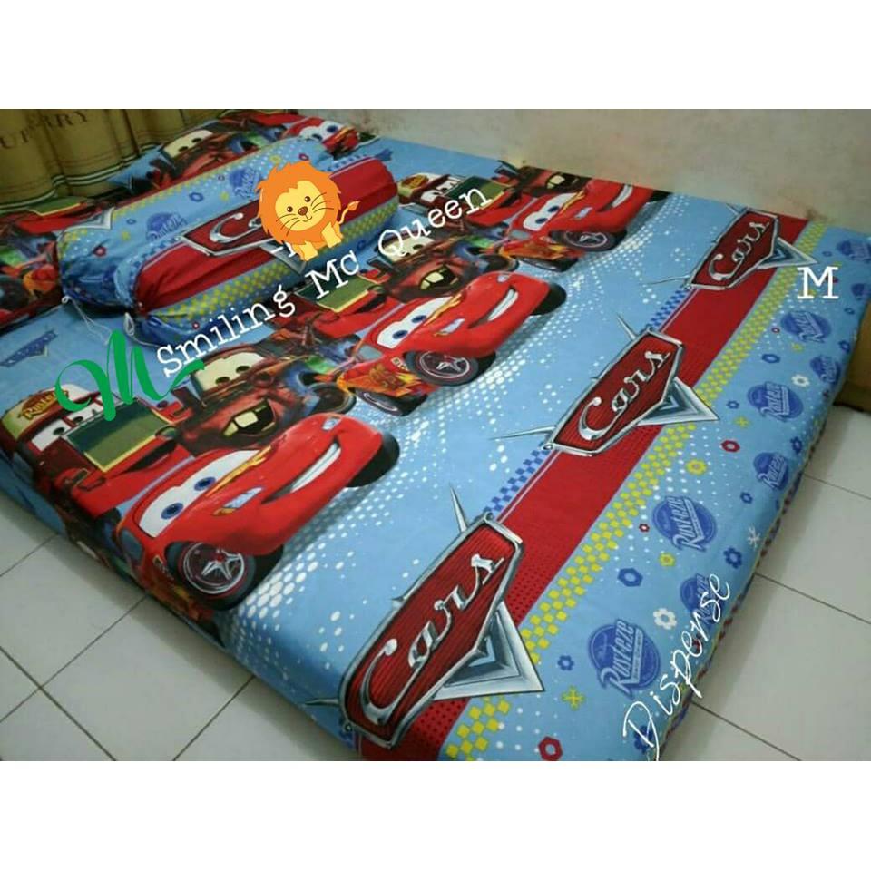 Sprei Cars Mc Queen Murah No. 2 Queen Size 160 - Smiling Mc Queen ... cc6064ea44