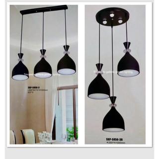 Best Seller Lampu Gantung Lampu Hias Gantung Dekorasi Meja Makan Minimalis 5956 3 Lampu Meja
