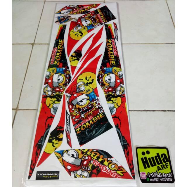 stiker striping list motor ninja grafis brush minion zombie   Shopee Indonesia