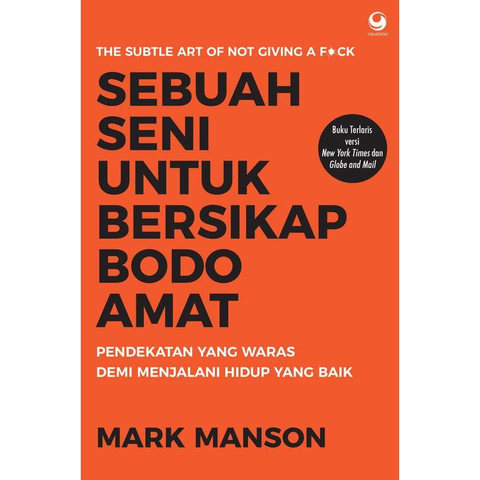 Baru Buku Sebuah Seni Untuk Bersikap Bodo Amat Mark Manson