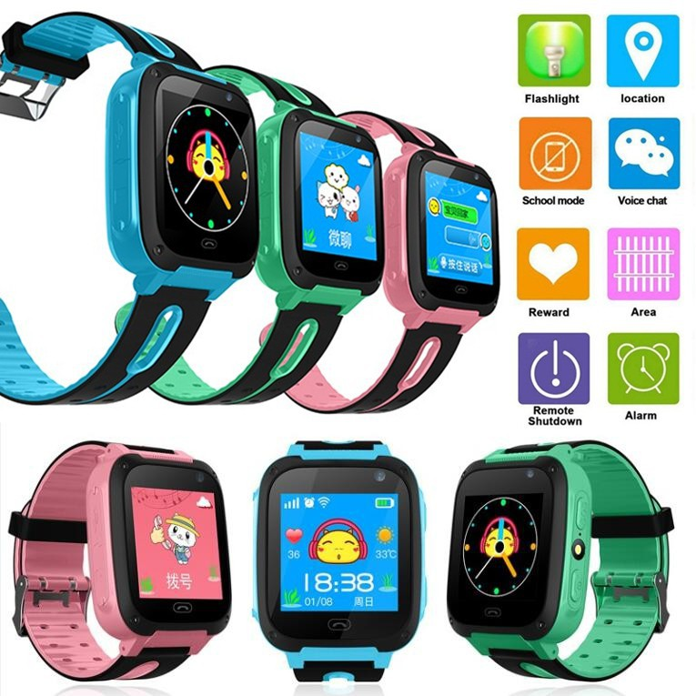 Smartwatch Q90+ Smart Watch Anak GPS Phone Call Children SIM LBS GSM SOS  Anti Air IOS Android
