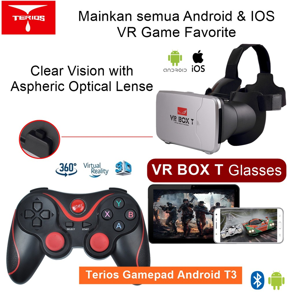 Bluetooth Gamepad Android 529 Game In Sd Card With Lion Bat Terios T3 Holder Jp Smartphone Vr Box Tv Source Pqsp Shopee Indonesia